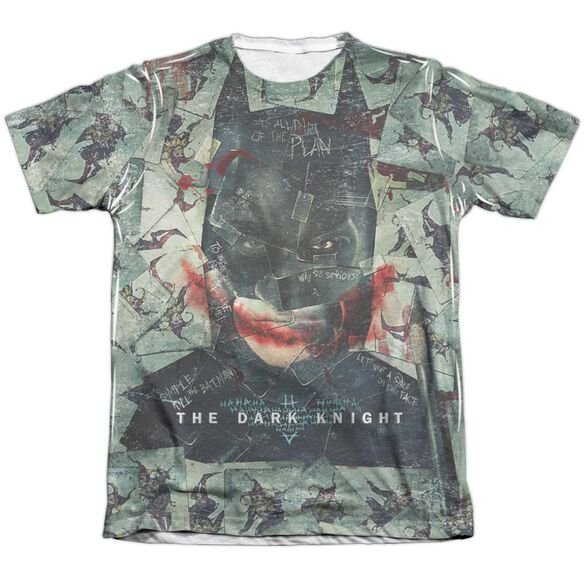 Dark Knight Stacked Hand Adult Poly Cotton Short Sleeve Tee T-Shirt