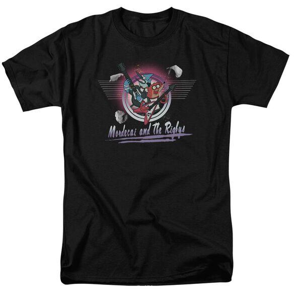 The Regular Show Mordecai & The Rigbys Short Sleeve Adult T-Shirt
