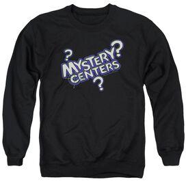 Dubble Bubble Mystery Centers - Adult Crewneck Sweatshirt - Black