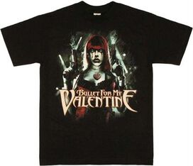 Bullet for My Valentine Gun T-Shirt