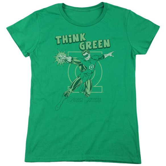 Dc Think Short Sleeve Womens Tee Kelly T-Shirt
