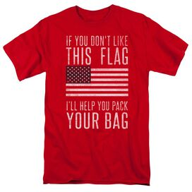 Pack Your Bag Short Sleeve Adult T-Shirt