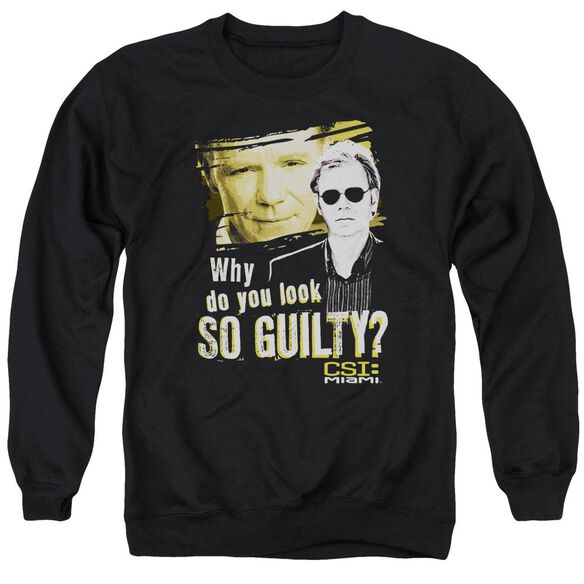 Csi Miami So Guilty Adult Crewneck Sweatshirt
