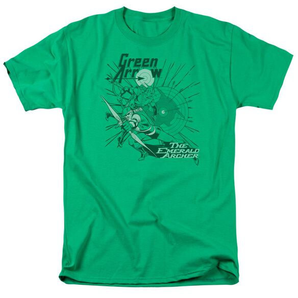 Dc The Emerald Archer Short Sleeve Adult Kelly T-Shirt