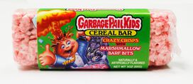 Garbage Pail Kids Cereal Bar
