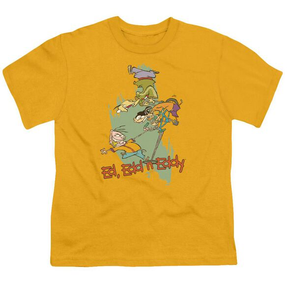 Ed Edd N Eddy Free Fall Short Sleeve Youth T-Shirt