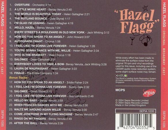 Hazel Flagg / O.B.C.