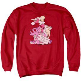 Looney Tunes Lola Present Adult Crewneck Sweatshirt