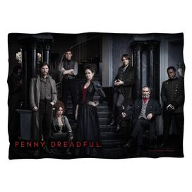 Penny Dreadful Stair Cast Pillow Case White
