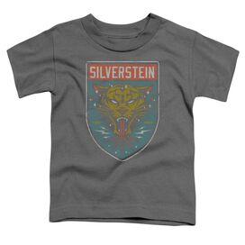 Silverstein Tiger Short Sleeve Toddler Tee Charcoal T-Shirt