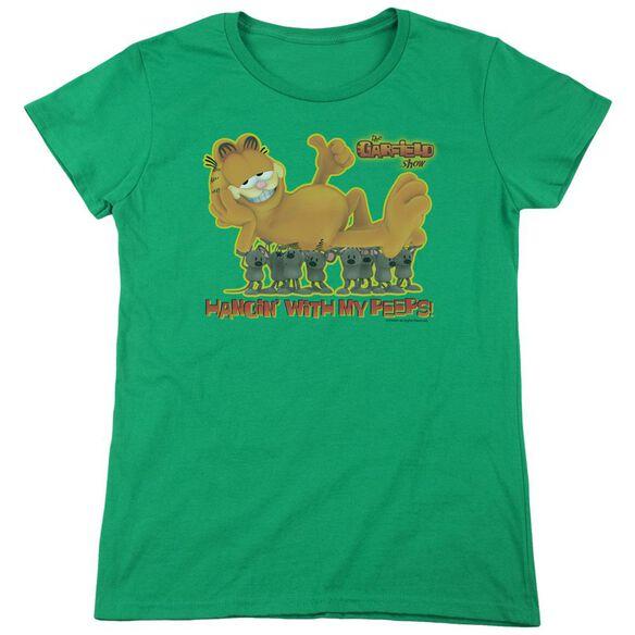 GARFIELD MY PEEPS-S/S WOMENS T-Shirt