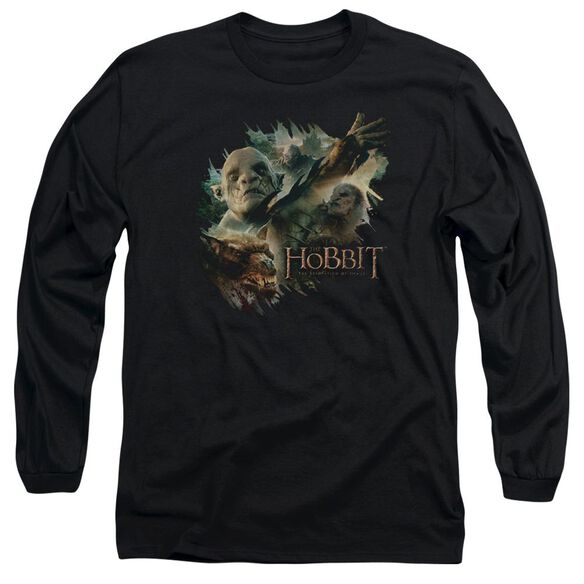 Hobbit Baddies Long Sleeve Adult T-Shirt