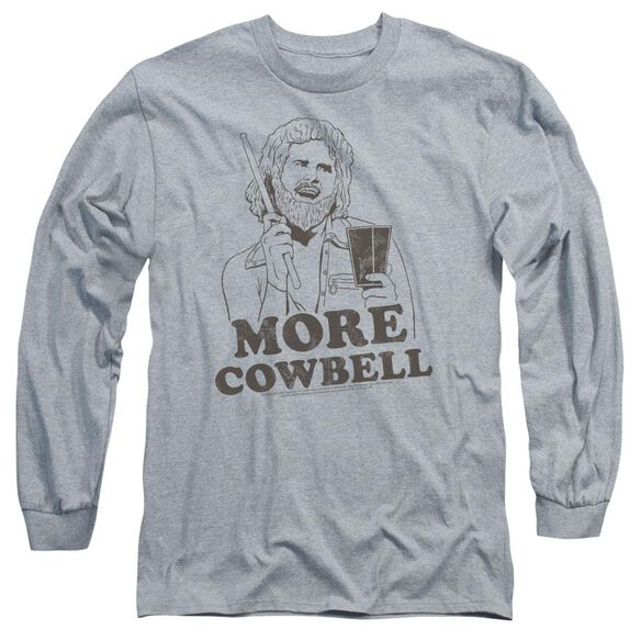 Snl Illustrated Cowbell Long Sleeve Adult Athletic T-Shirt