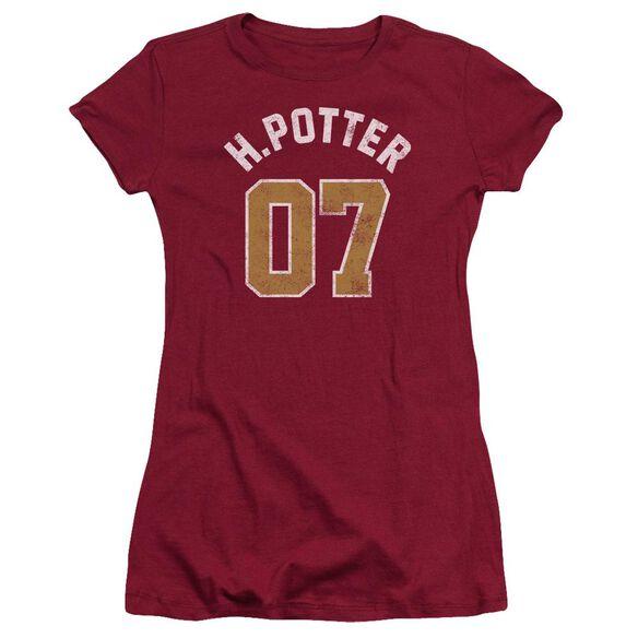 Harry Potter Potter Jersey Short Sleeve Junior Sheer T-Shirt