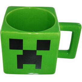 Minecraft Creeper Cube Mug