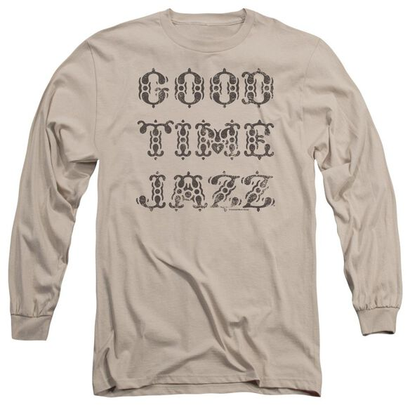 Good Time Jazz Retro Good Times Long Sleeve Adult T-Shirt