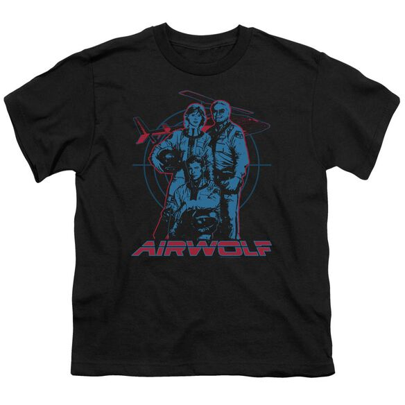 Airwolf Graphic Short Sleeve Youth T-Shirt