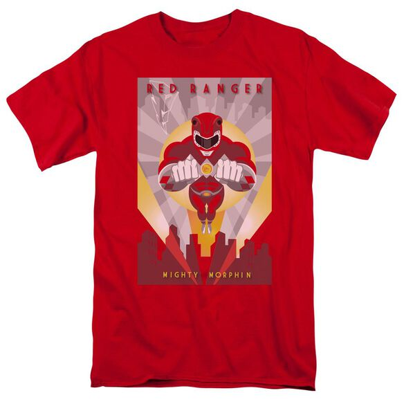 Power Rangers Deco Short Sleeve Adult T-Shirt