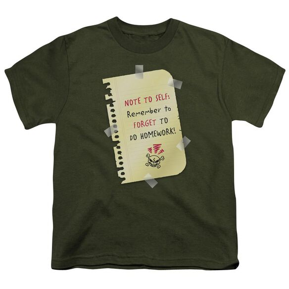 Remember To Forget Short Sleeve Youth Military T-Shirt