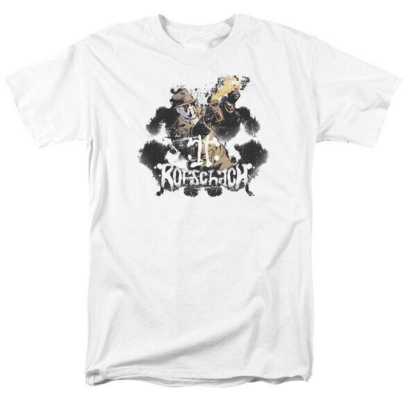 Watchmen Rorschach Short Sleeve Adult T-Shirt