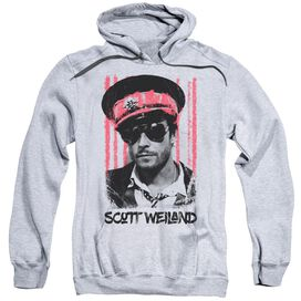 Scott Weiland Black Hat Adult Pull Over Hoodie Athletic