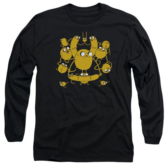 Adventure Time Jakes Long Sleeve Adult T-Shirt