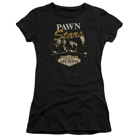 Pawn Stars Let It Roll Short Sleeve Junior Sheer T-Shirt