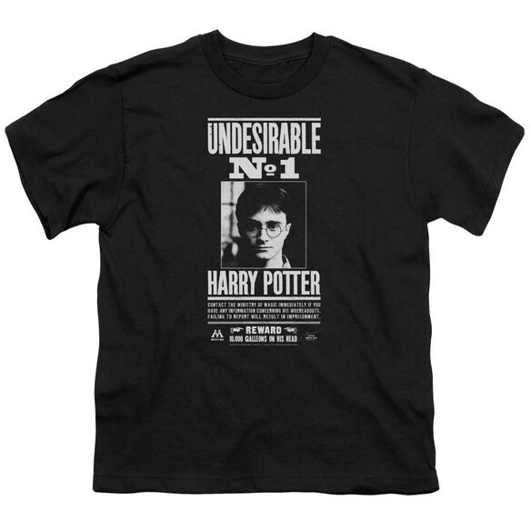 Harry Potter Undesirable No 1 Short Sleeve Youth T-Shirt