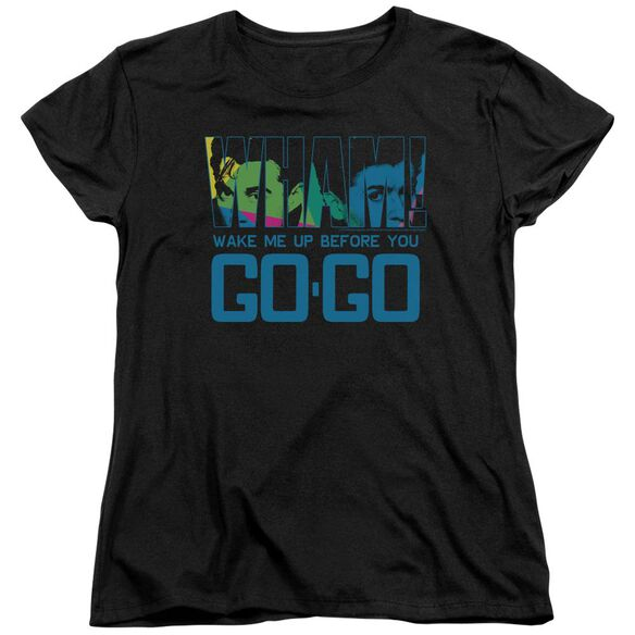 Wham Wake Me Up Before You Go Go Short Sleeve Womens Tee T-Shirt