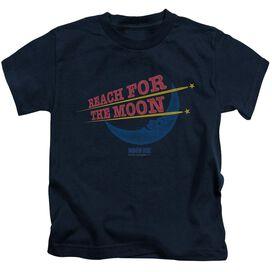 Moon Pie Reach For The Moon Short Sleeve Juvenile Navy Md T-Shirt