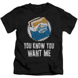 White Castle Want Me Short Sleeve Juvenile T-Shirt