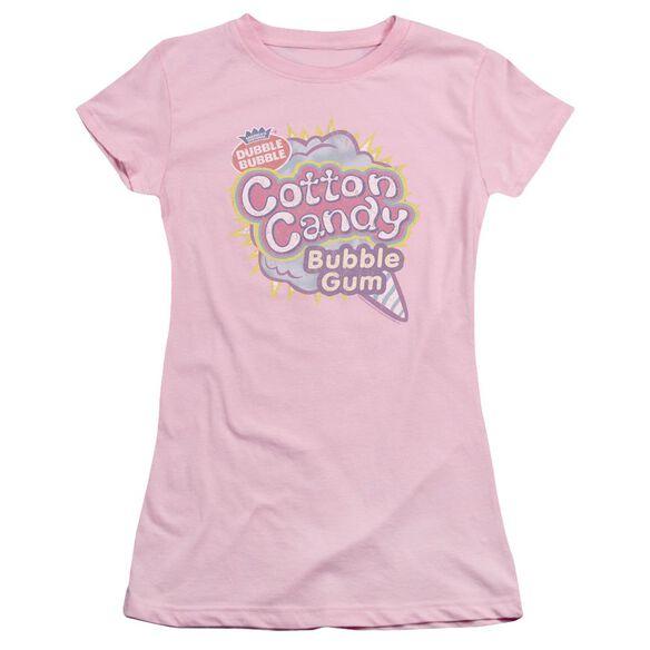 Dubble Bubble Cotton Candy Short Sleeve Junior Sheer T-Shirt
