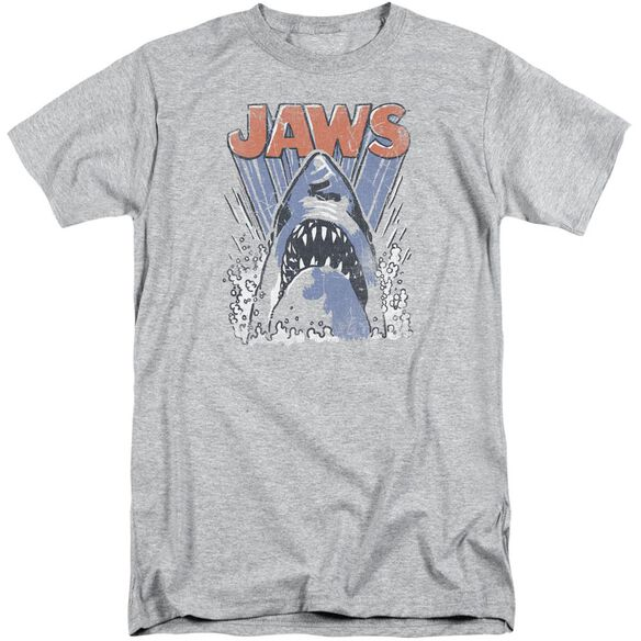 Jaws Comic Splash Short Sleeve Adult Tall Athletic T-Shirt