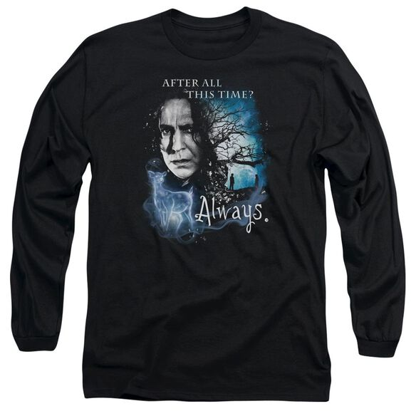 Harry Potter Always Long Sleeve Adult T-Shirt