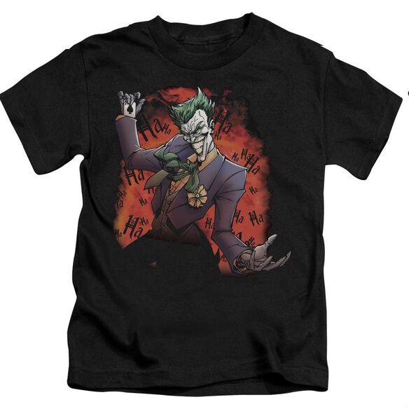BATMAN JOKERS AVE - S/S JUVENILE 18/1 - BLACK - T-Shirt