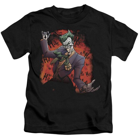 Batman Joker's Ave Short Sleeve Juvenile Black Md T-Shirt