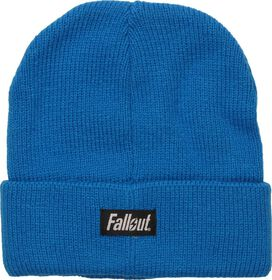 Fallout Vault Boy Embroidered Logo Cuff Beanie