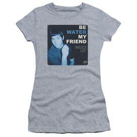 Bruce Lee Water Short Sleeve Junior Sheer Athletic T-Shirt