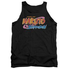 Naruto Shippuden Logo Adult Tank