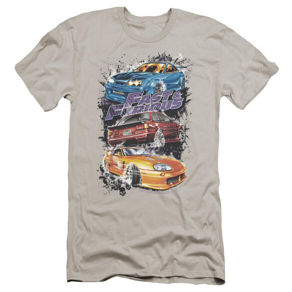 Fast And The Furious Smokin Street Cars Premuim Canvas Adult Slim Fit