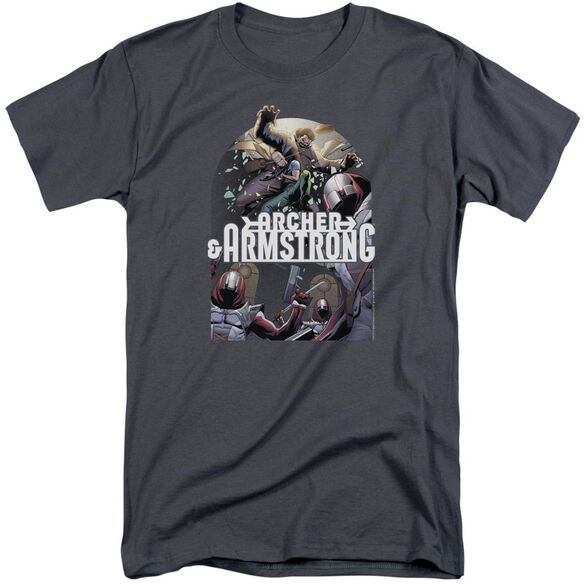 Archer & Armstrong Dropping In Short Sleeve Adult Tall T-Shirt