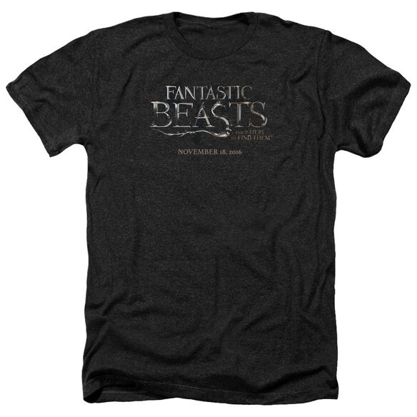 Fantastic Beasts Logo Adult Heather