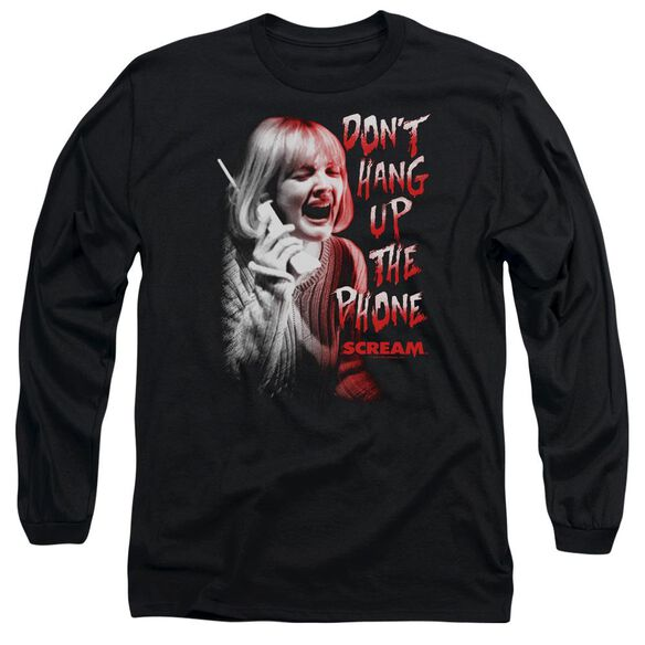 Scream Dont Hang Up Long Sleeve Adult T-Shirt