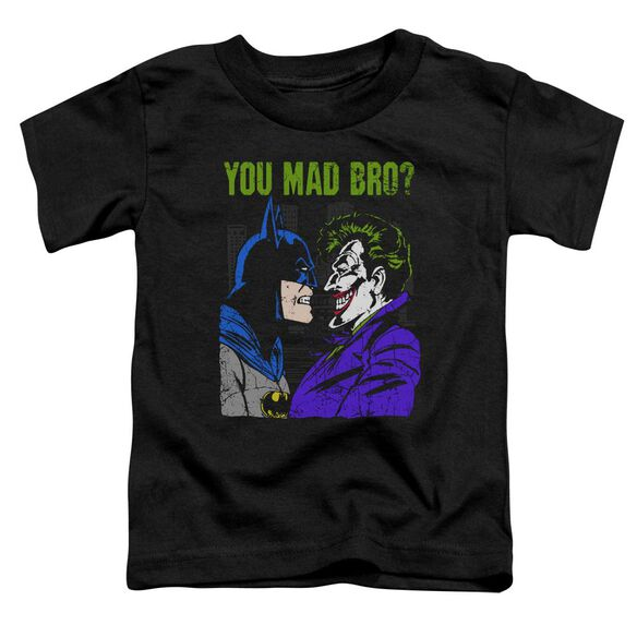 Dc Mad Bro Short Sleeve Toddler Tee Black T-Shirt