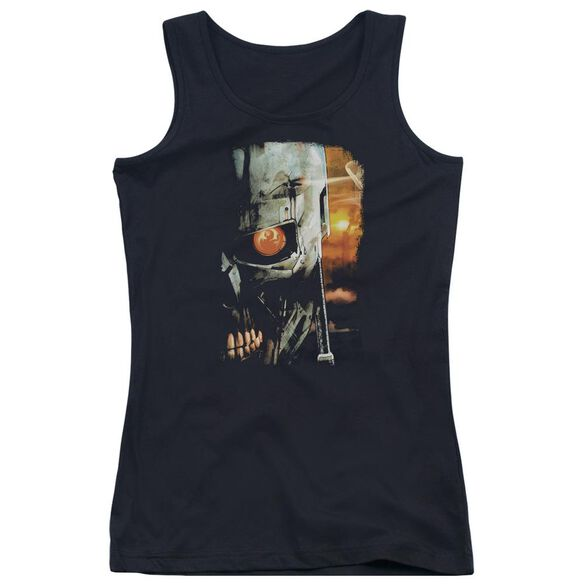 Terminator Sketchy Juniors Tank Top