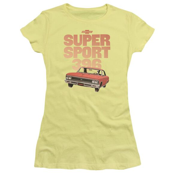 Chevrolet Super Sport 396 Short Sleeve Junior Sheer T-Shirt