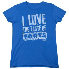 Farts Candy Tasty Farts Short Sleeve Womens Tee Royal T-Shirt