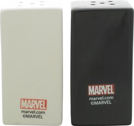 Deadpool Split Logo Salt Shaker Set