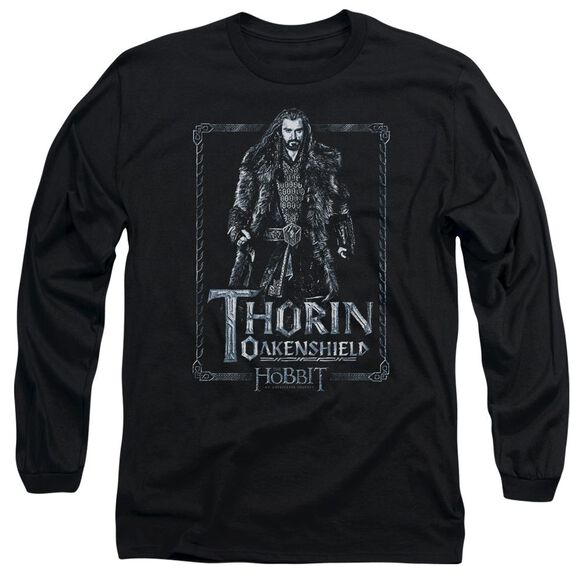 The Hobbit Thorin Stare Long Sleeve Adult T-Shirt