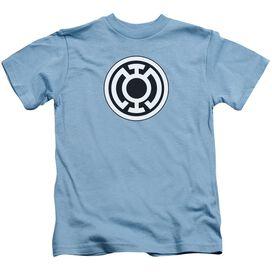 Green Lantern Blue Lantern Logo Short Sleeve Juvenile Carolina Blue T-Shirt